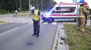 Wypadek na Płoskiego. Dwie kobiety trafiły do szpitala