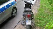 Pijany motorowerzysta i obywatelskie zatrzymanie pod sklepem