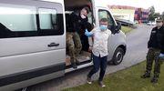 Rosjanin nielegalnie przekroczył granicę [FILM]