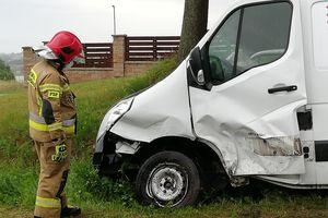 Niebezpieczne zdarzenia na drogach - w Wawrowicach i Nowym Mieście