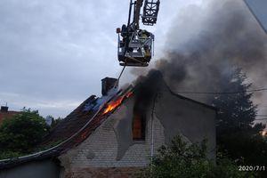 Tragiczny pożar. Zginął 45-letni mężczyzna