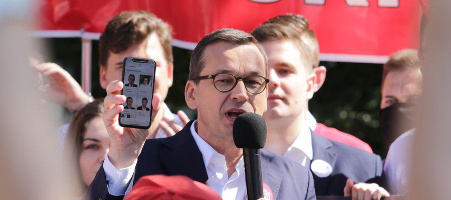 Premier w Olsztynie