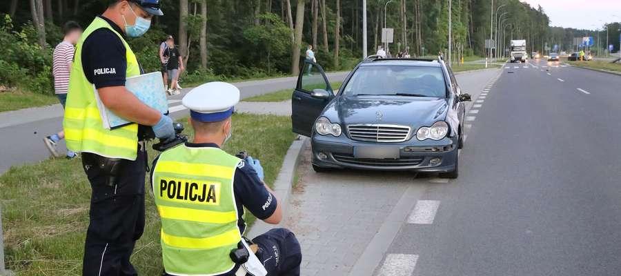 Nadmierna prędkość powodem wypadków drogowych