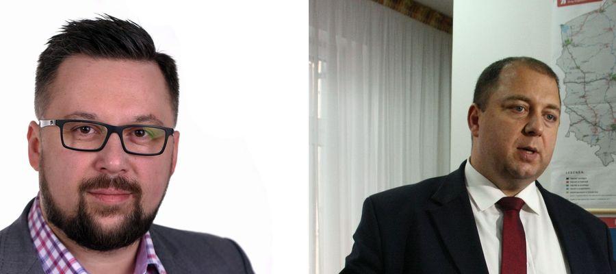 Marcin Kulasek, poseł SLD i Wojciech Kossakowski, poseł PiS