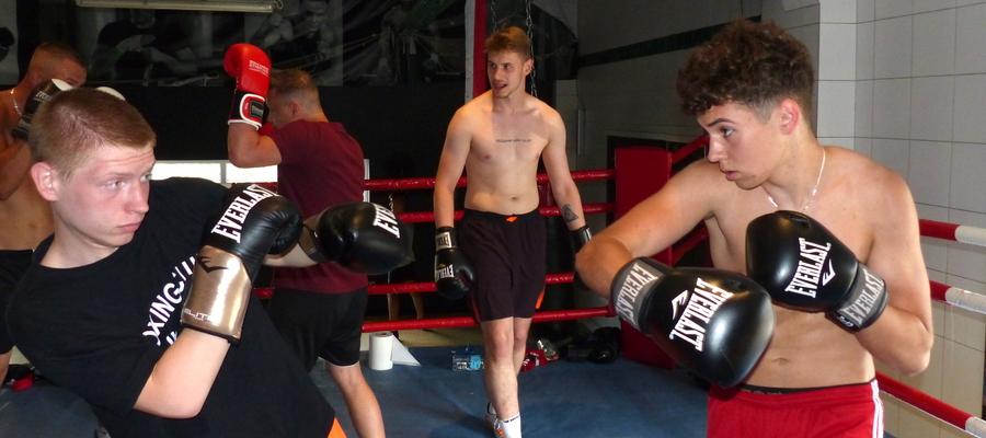 Wtorek, 30 czerwca 2020 — trening w sali Boxing Club Iława