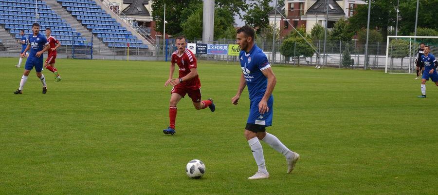 W ostatnim sparingu Sokół Ostróda wygrał 2:1 z trzecioligowym Bałtykiem Gdynia