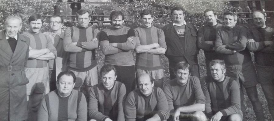 Piłkarze i działacze Warmii Olsztyn, początek lat 60.