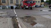 Ulewy i wiatr spowodowały 13 wyjazdów straży pożarnej