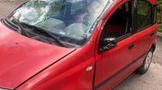 Wypadek bez udziału kierowcy