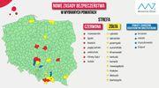 Pierwszy powiat z naszego województwa w żółtej strefie