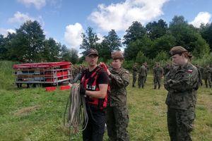Strażacy ćwiczyli z żołnierzami WOT [ZDJĘCIA]