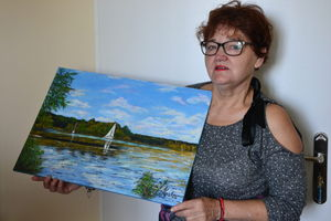 Jolanta Kuska z Radomna: Największym szczęściem jest dla mnie sam proces tworzenia