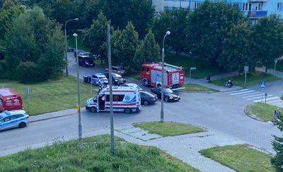 Zderzenie dwóch pojazdów na skrzyżowaniu w Olsztynie [ZDJĘCIA]