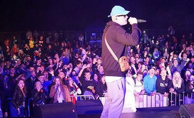 Hip Hop Pisz Festiwal '20. Amfiteatr bujał się w rytmie rapu