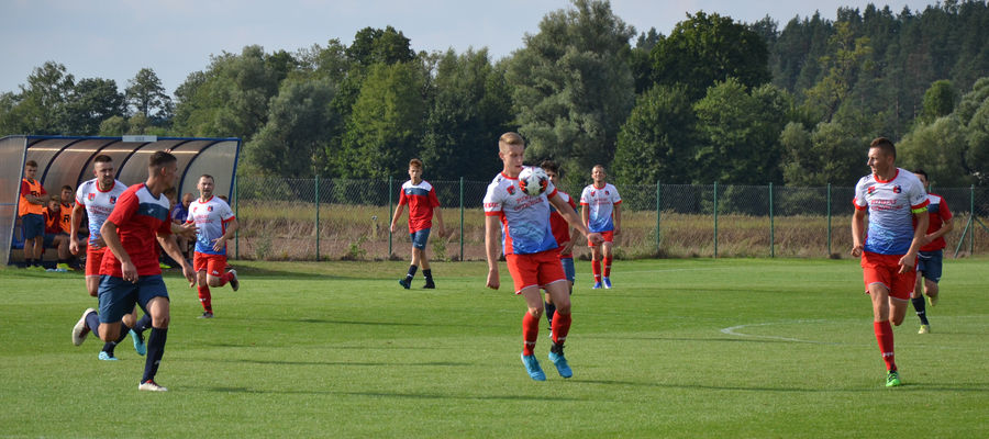 Płomień strzelił pięć goli i wygrał na własnym boisku z Grunwaldem