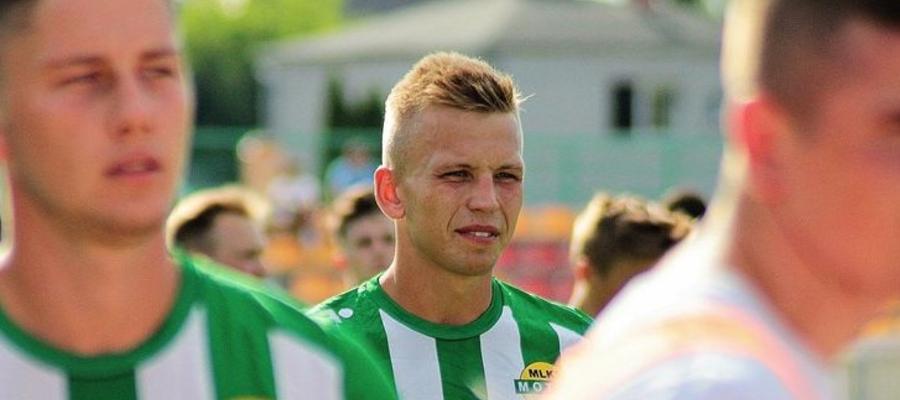 Łukasz Goździejewski zdobył w dwóch ostatnich meczach dwie bramki dla Motoru Lubawa