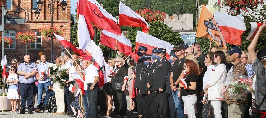 Obchody rocznicy wybuchu Powstania Warszawskiego w Olsztynku