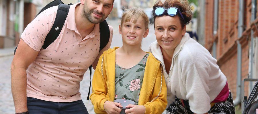 Hanna i Marcin Dawgul z Julką