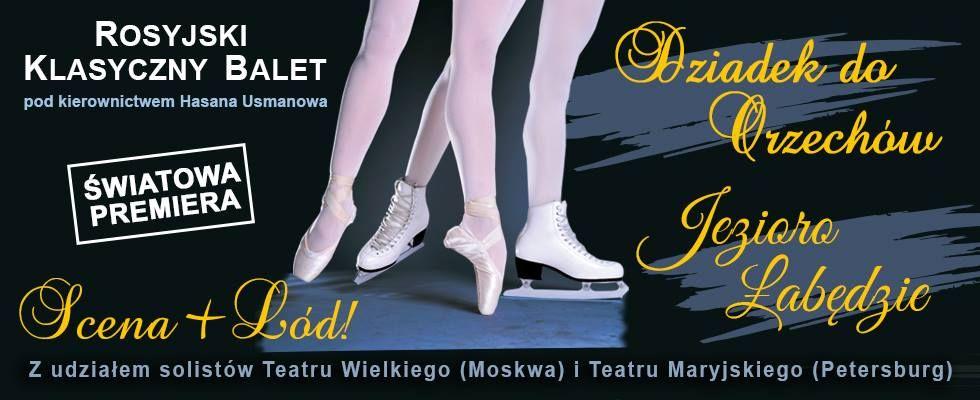 Rosyjski Klasyczny Balet Moskwy   - Jezioro Łabędzie  - full image