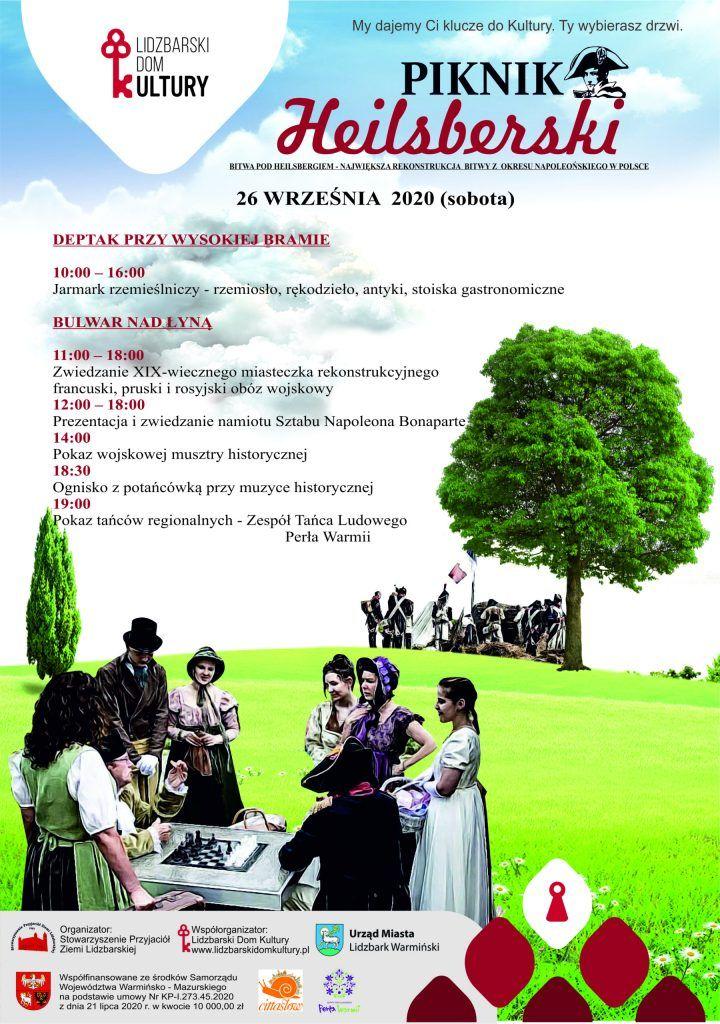 Piknik Heilsberski w Lidzbarku Warmińskim  - full image