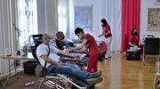 Oddawali krew w Sali Tradycji 20 BBZ. Zebrali jej ponad 16 litrów
