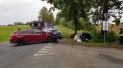 Dwie osoby trafiły do szpitala po wypadku w okolicach Bajtkowa