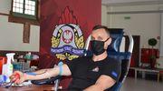 Strażacy honorowo oddali krew