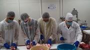 Uczniowie z Dobrocina na warsztatach w PODR Szepietowo