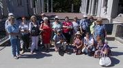 Lidzbarscy emeryci zwiedzili Łazienki Królewskie