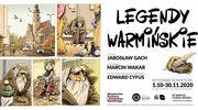 LEGENDY WARMIŃSKIE – Wernisaż wystawy komiksów autorstwa Jarosława Gacha