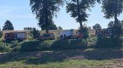 Wypadek na drodze koło Ostródy. Jedna osoba ranna