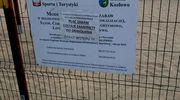 Plac zabaw w Kozłowie jest zamknięty, ale cyrk przyjechać może