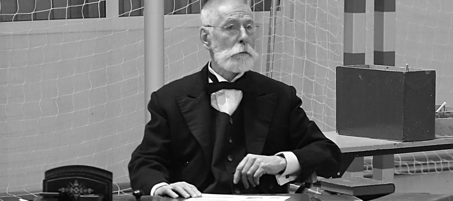 W 2018 roku artysta wcielał się w rolę Wojciecha Kętrzyńskiego