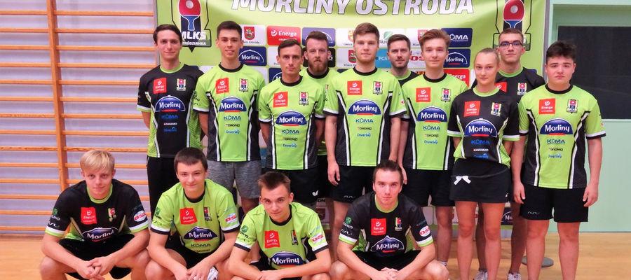 Dwie drużyny Morlin Ostróda zagrają w pingpongowej I lidze