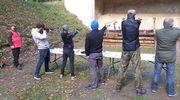 Lidzbarscy strzelcy na zawodach w Kaczorach