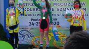 Piąty medal Urszuli Sipko podczas kolarskich międzywojewódzkich mistrzostw młodzików