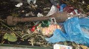 Pocisk do granatnika wylądował w śmieciach