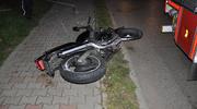 Tragedia w Kisielicach. Nie żyje motocyklista, jechał bez kasku [foto]