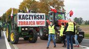Pod Bartoszycami protestowali rolnicy. Blokowali rondo, a potem pojechali do miasta [ZDJĘCIA, VIDEO]