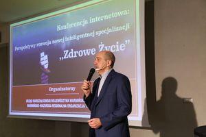"""Internetowa Konferencja: Perspektywy rozwoju nowej inteligentnej specjalizacji """"ZDROWE ŻYCIE"""""""