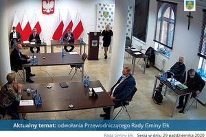 Zmiany w Radzie Gminy Ełk. Mamy nowego przewodniczącego!