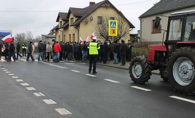 Rolnicy będą ponownie protestować. Wyjadą na DK15