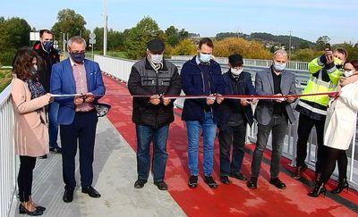 Nowy most połączył starą i nową część Kurzętnika