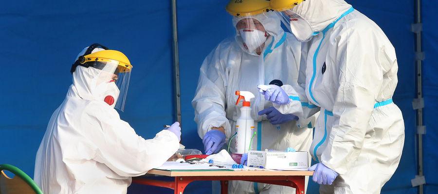 Największa liczba zgonów od początku pandemii