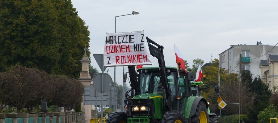 Rolnicy wyszli na ulice!