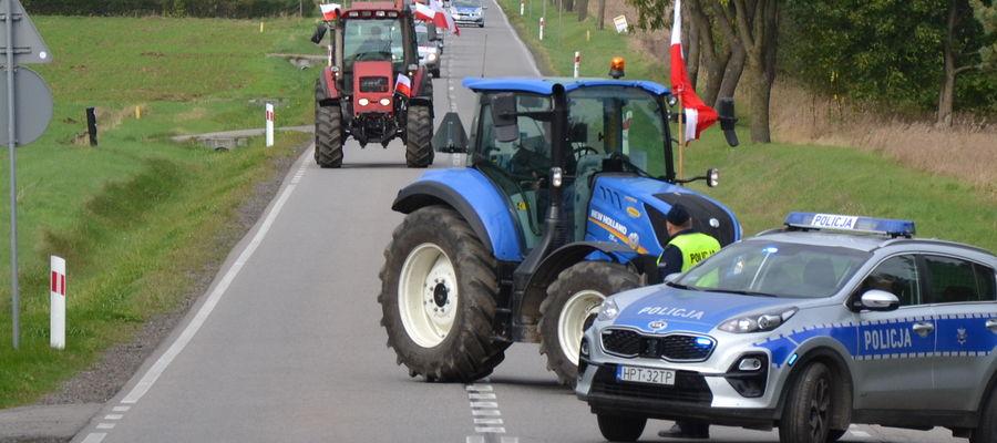 Będzie protest rolników. W środę zablokują rondo pod Bartoszycami