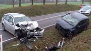Niebezpiecznie na drogach - trzy wypadki w dwa dni