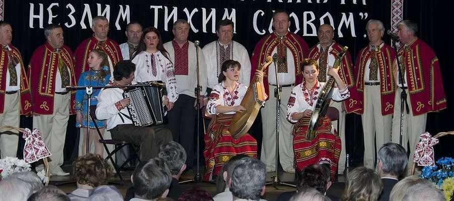 Zdjęcie z Koncertu Szewczenkowskiego w Lidzbarku