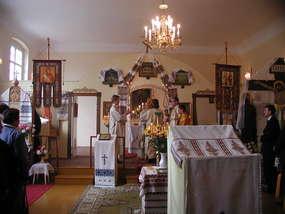 Cerkiew prawosławna św. Apostołów  Piotra i Pawła w Węgorzewie
