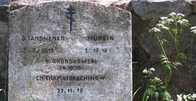 Gołdap: cmentarz wojenny z czasów I wojny światowej - full image
